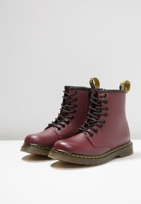 Dr. Martens - DELANEY SOFTY - Lace-up ankle boots - cherry red - 3