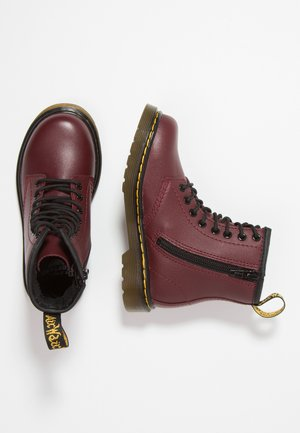 1460 J Softy - Bottines à lacets - cherry red