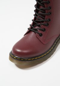 Dr. Martens - DELANEY SOFTY - Lace-up ankle boots - cherry red - 2