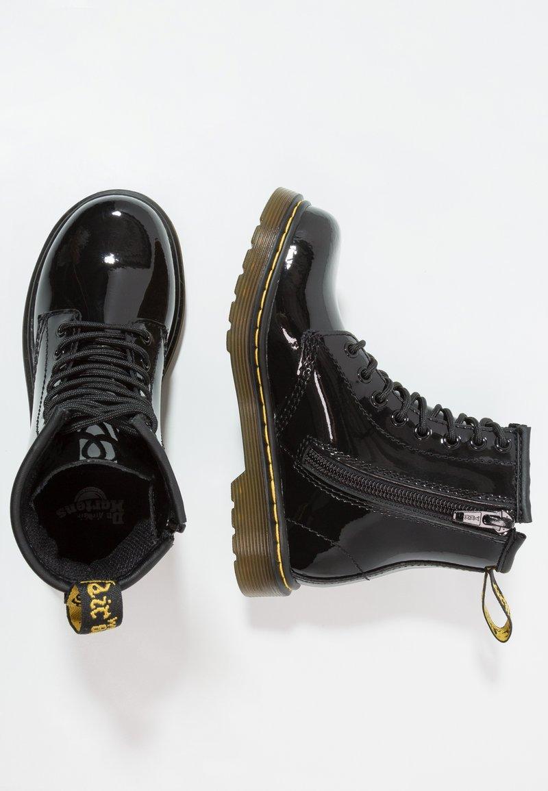 Dr. Martens - 1460 J PATENT - Lace-up ankle boots - schwarz
