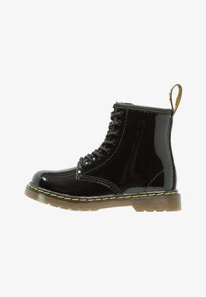 1460 PATENT I - Bottines à lacets - black