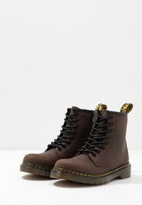Dr. Martens - 1460 Serena J Republic Wp - Lace-up ankle boots - dark brown - 3