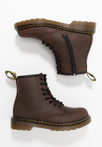 Dr. Martens - 1460 Serena J Republic Wp - Lace-up ankle boots - dark brown - 0