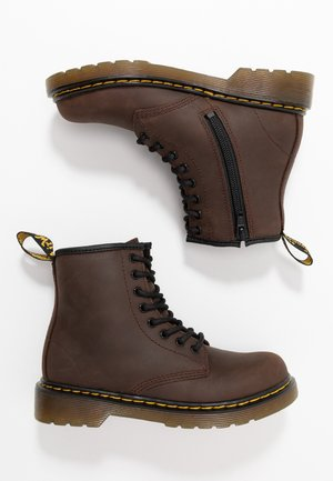 1460 SERENA - Lace-up ankle boots - dark brown