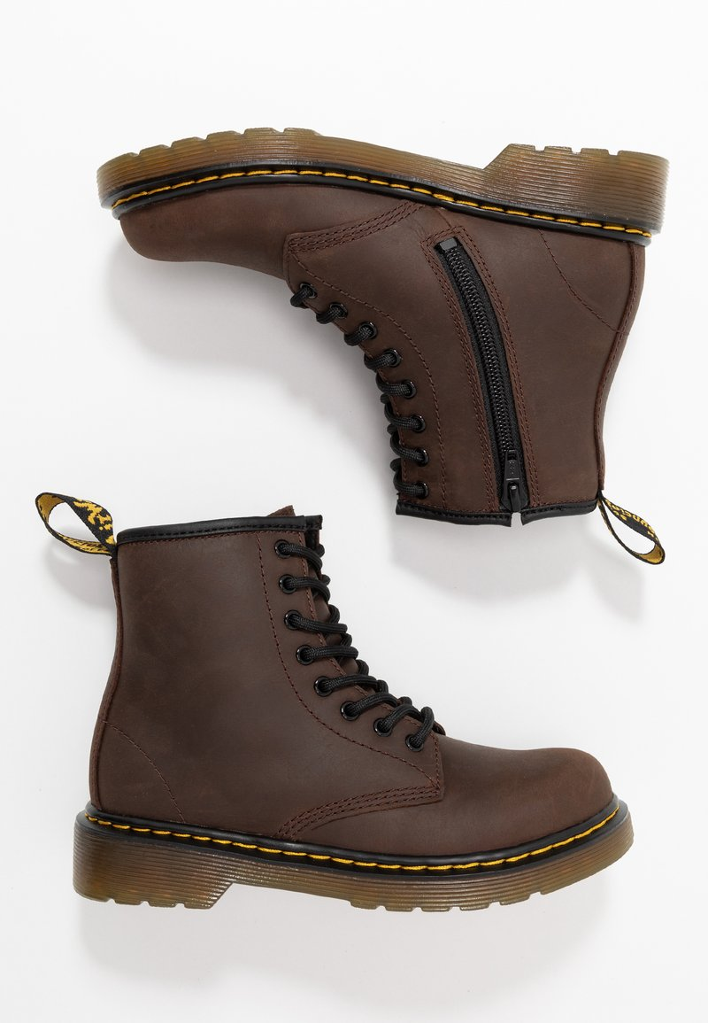 Dr. Martens - 1460 SERENA - Lace-up ankle boots - dark brown