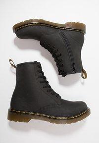 Dr. Martens - 1460 Serena J Republic Wp - Lace-up ankle boots - black mohawk - 0