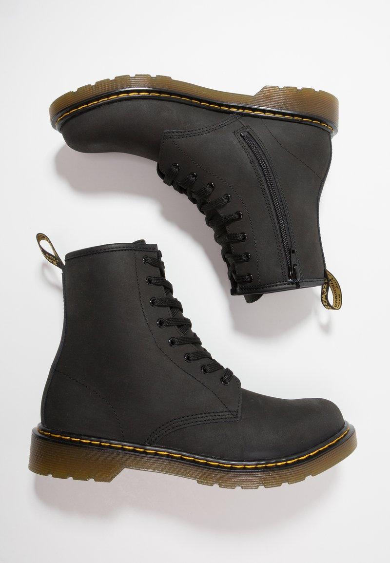Dr. Martens - 1460 Serena J Republic Wp - Lace-up ankle boots - black mohawk
