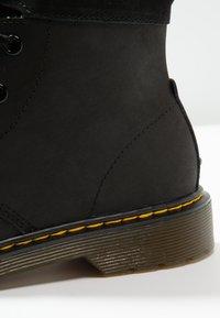Dr. Martens - AIMILITA - Lace-up ankle boots - black - 5