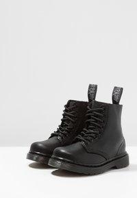 Dr. Martens - 1460 PASCAL MONO - Lace-up ankle boots - black - 3