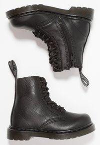 Dr. Martens - 1460 PASCAL MONO - Lace-up ankle boots - black - 0