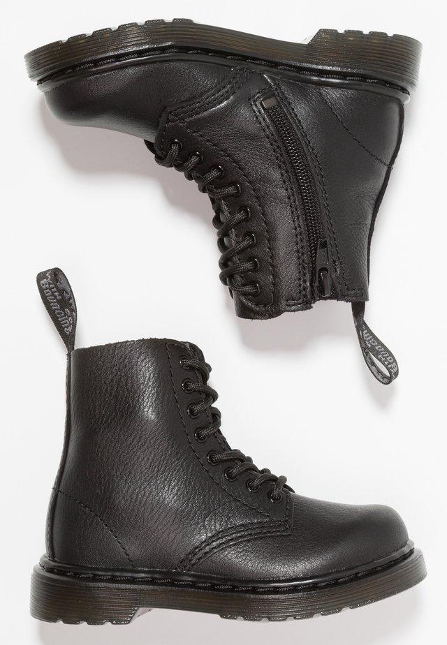1460 PASCAL MONO - Snörstövletter - black