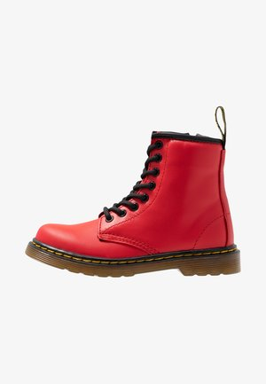1460 J - Lace-up ankle boots - satchel red romario