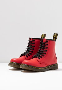 Dr. Martens - 1460 J Romario - Lace-up ankle boots - satchel red romario - 3