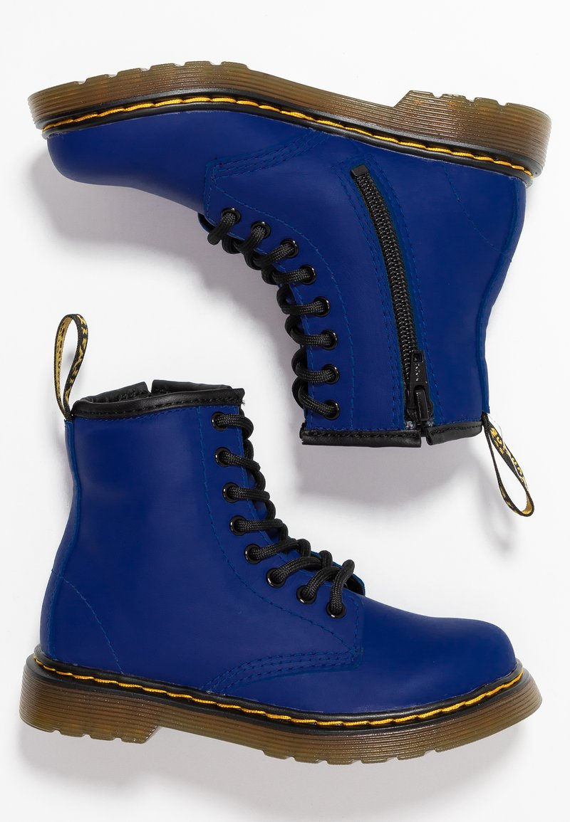 Dr. Martens - Lace-up ankle boots - blue romario