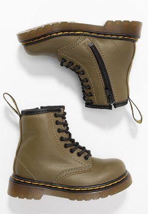1460 8-EYE BOOT - Classic ankle boots - olive