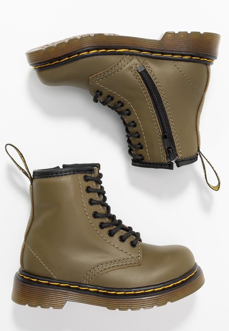 Dr. Martens - 1460 8-EYE BOOT - Stövletter - olive