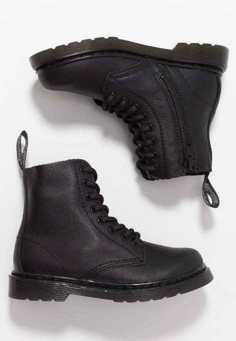 Dr. Martens - 1460 PASCAL MONO JUNIOR - Stövletter - black