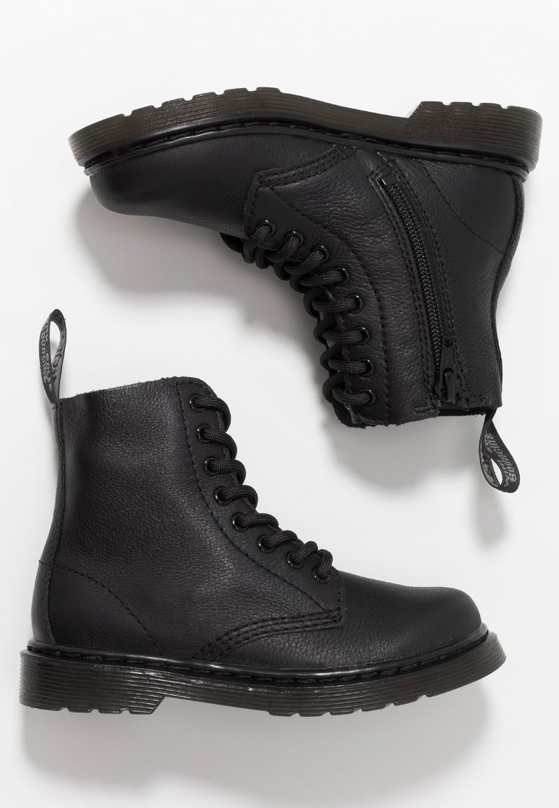 Dr. Martens - 1460 PASCAL MONO JUNIOR - Classic ankle boots - black
