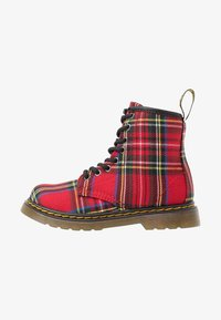 Dr. Martens - 1460 TARTAN - Lace-up ankle boots - red - 1