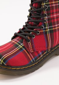Dr. Martens - 1460 TARTAN - Lace-up ankle boots - red - 2