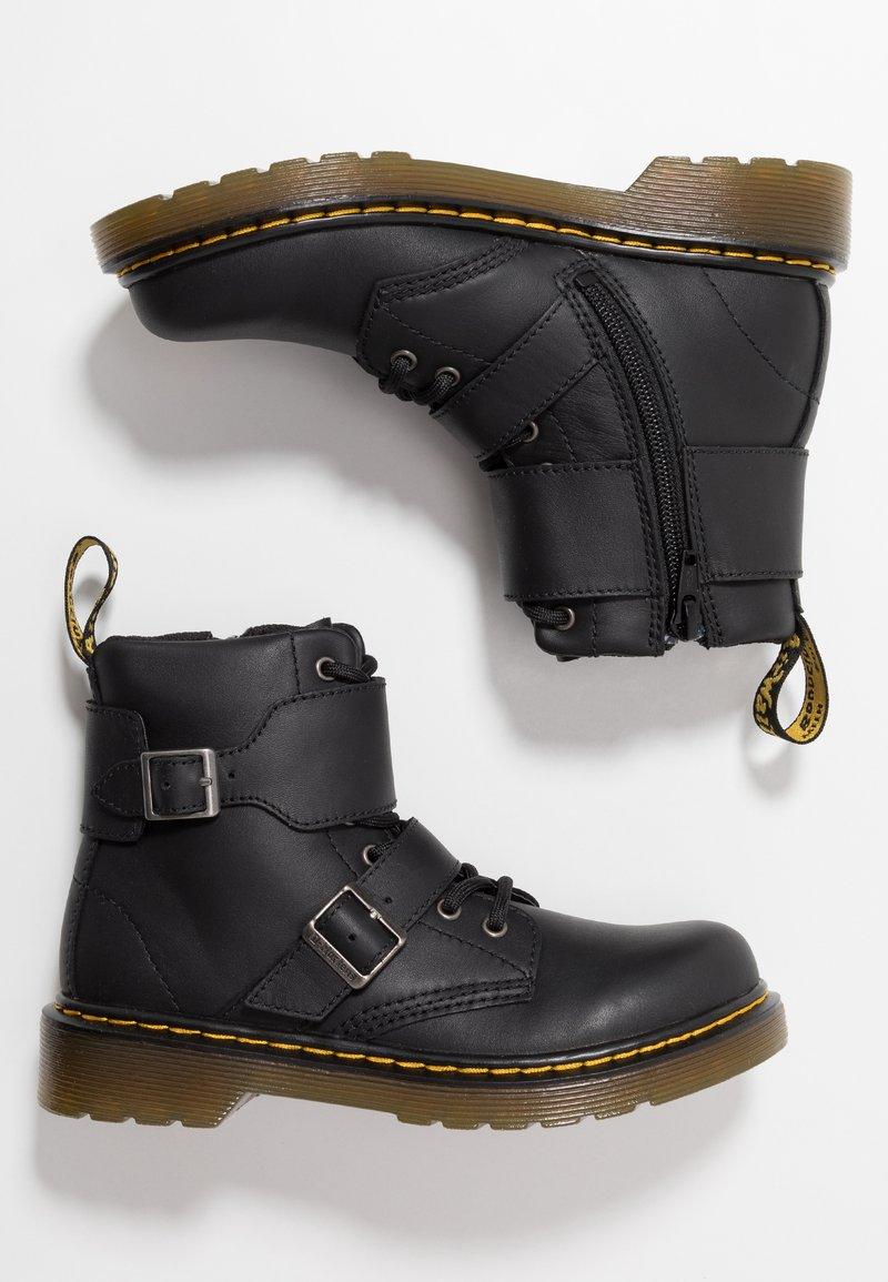 Dr. Martens - 1460 JOSKA - Cowboy-/Bikerstiefelette - black