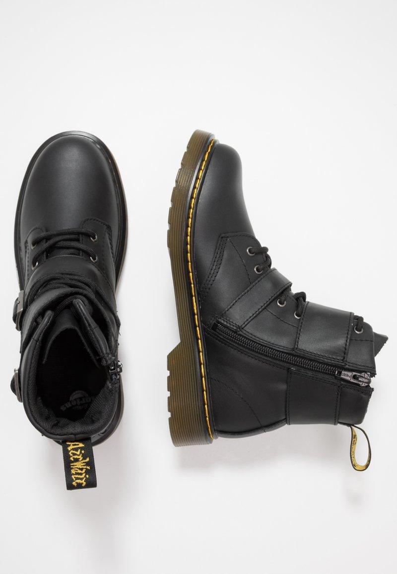 Dr. Martens - 1460 JOSKA YOUTH - Cowboy/biker ankle boot - black