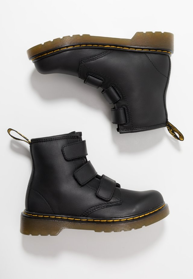 1460 STRAP - Bottines - black