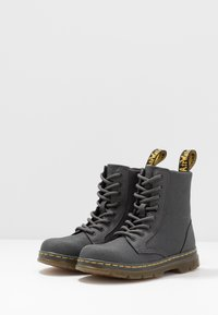 Dr. Martens - COMBS - Lace-up ankle boots - charcoal - 3