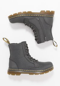 Dr. Martens - COMBS - Lace-up ankle boots - charcoal - 0