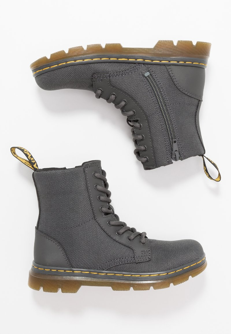 Dr. Martens - COMBS - Lace-up ankle boots - charcoal