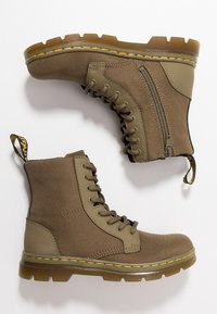 Dr. Martens - COMBS - Lace-up ankle boots - olive - 0