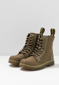 Dr. Martens - COMBS - Lace-up ankle boots - olive - 3