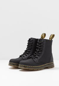 Dr. Martens - COMBS - Lace-up ankle boots - black - 3