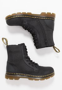 Dr. Martens - COMBS - Lace-up ankle boots - black - 0