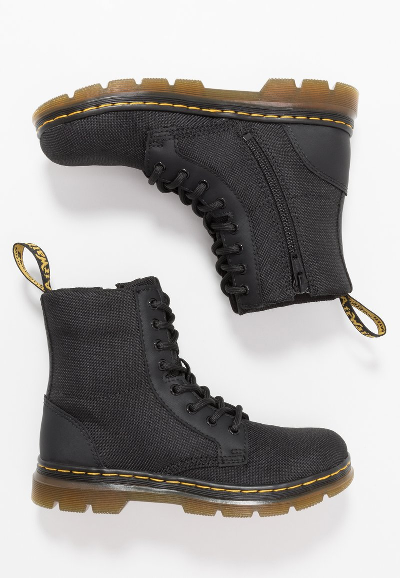 Dr. Martens - COMBS - Lace-up ankle boots - black