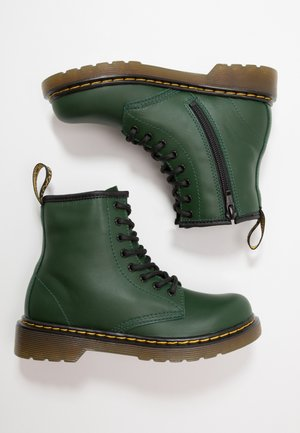 1460 ROMARIO - Bottines à lacets - green