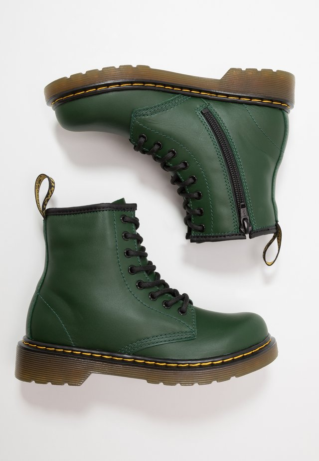 1460 ROMARIO - Lace-up ankle boots - green
