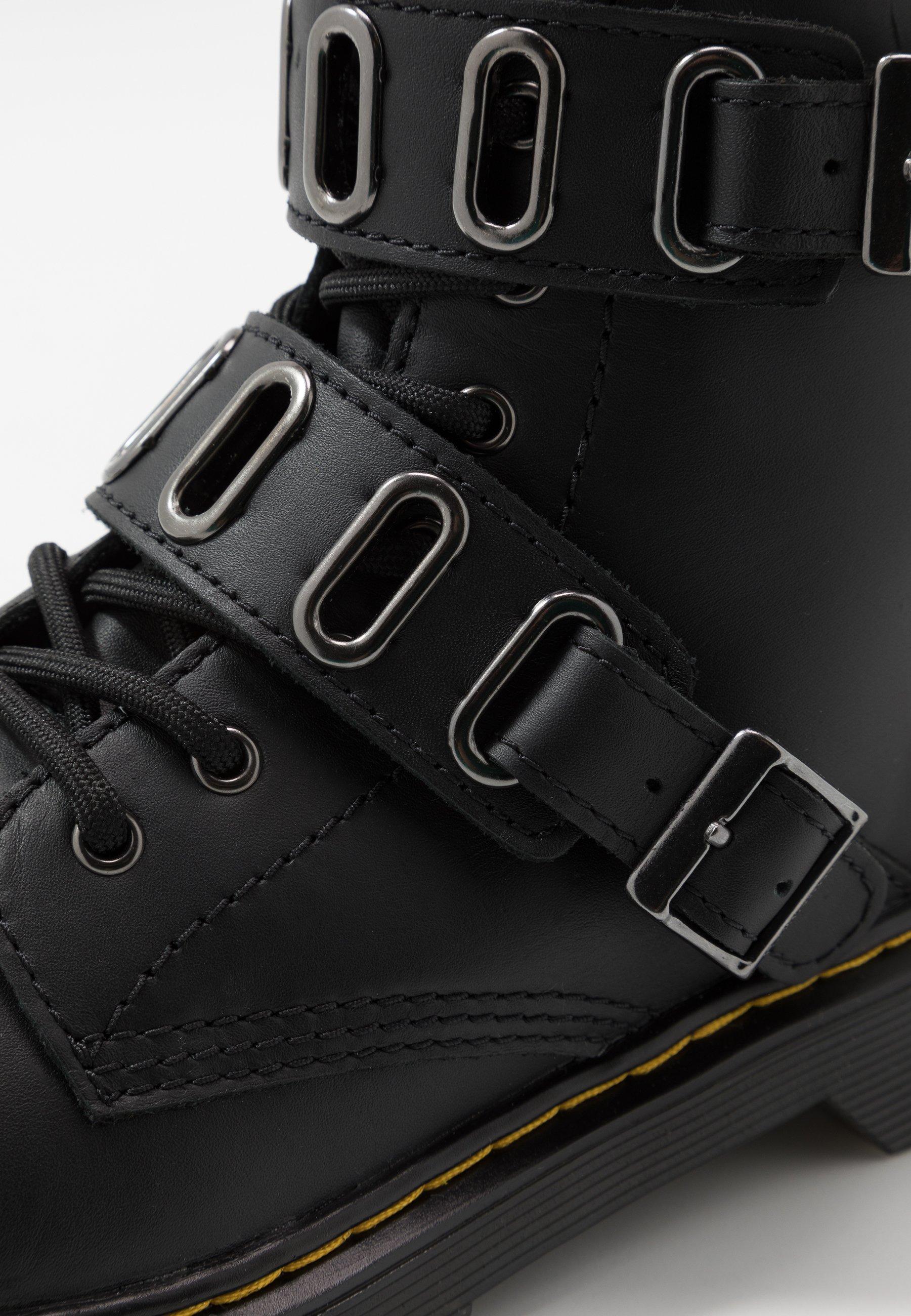 QUYNN Bottines à lacets black romario