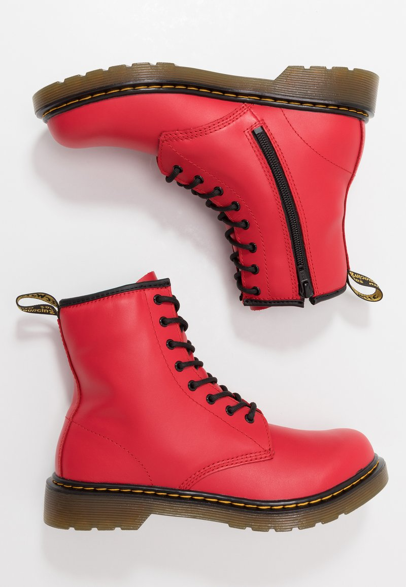 Dr. Martens - 1460 - Lace-up ankle boots - satchel red/romario