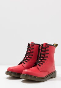 Dr. Martens - 1460 - Lace-up ankle boots - satchel red/romario - 3