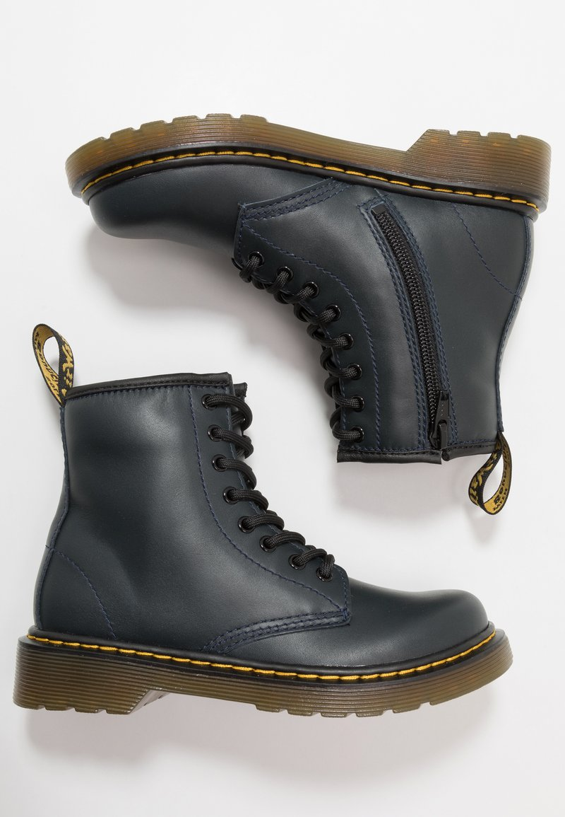 Dr. Martens - 1460 - Lace-up ankle boots - navy romario