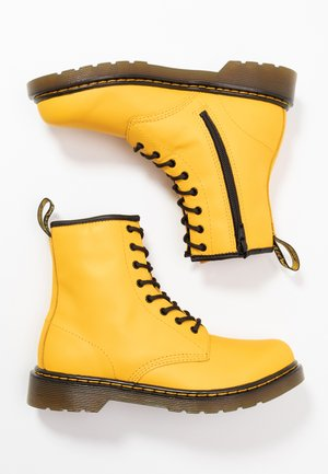 1460 - Lace-up ankle boots - yellow romario