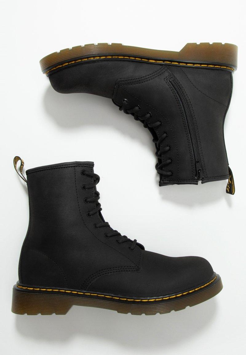 Dr. Martens - 1460 SERENA - Snörstövletter - black