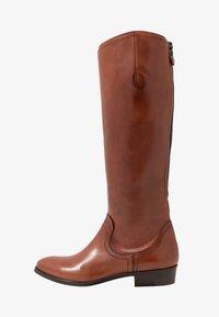 Donna Carolina - Vysoká obuv - cognac - 1