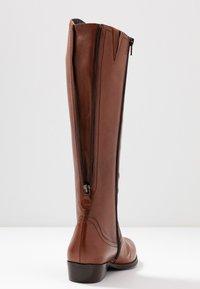 Donna Carolina - Vysoká obuv - cognac - 7