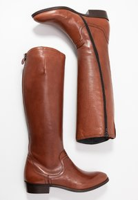 Donna Carolina - Vysoká obuv - cognac - 3