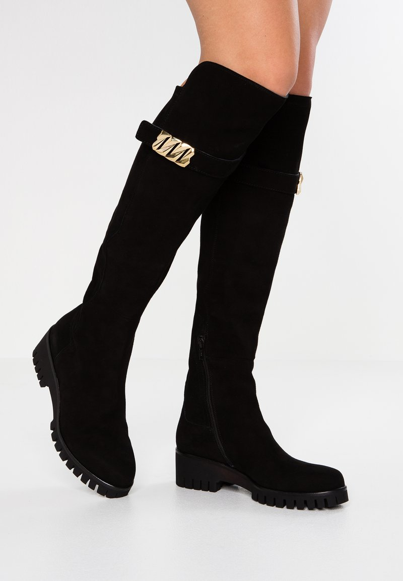 Donna Carolina - Over-the-knee boots - nero