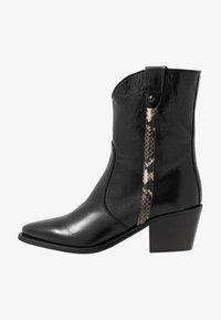 Donna Carolina - Kovbojské/motorkářské boty - texas nero - 1