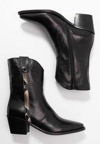 Donna Carolina - Kovbojské/motorkářské boty - texas nero - 3