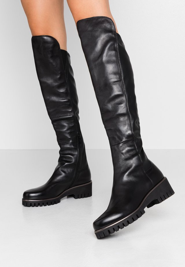 Over-the-knee boots - texas nero